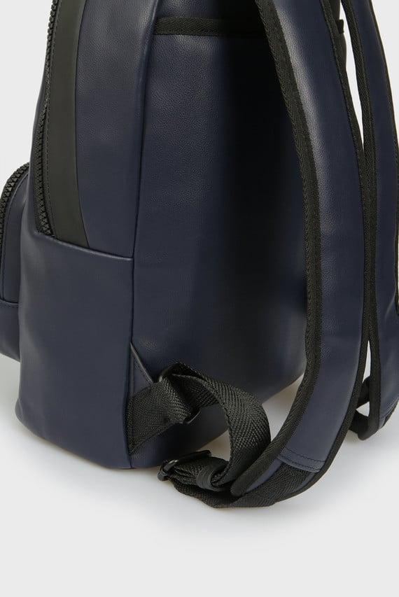 Мужской темно-синий рюкзак CK UP ROUND