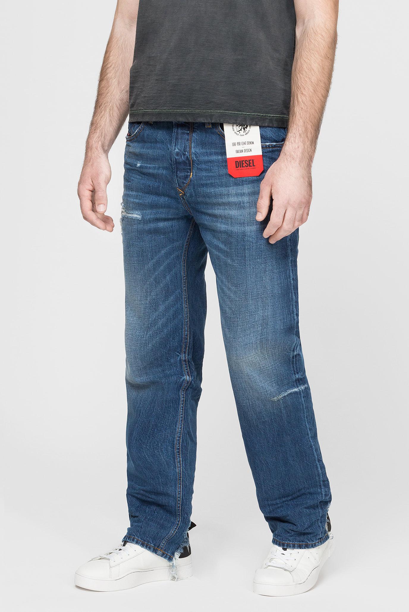 Купить Мужские синие джинсы D-KODECK Diesel Diesel 00SSLF 080AH – Киев, Украина. Цены в интернет магазине MD Fashion