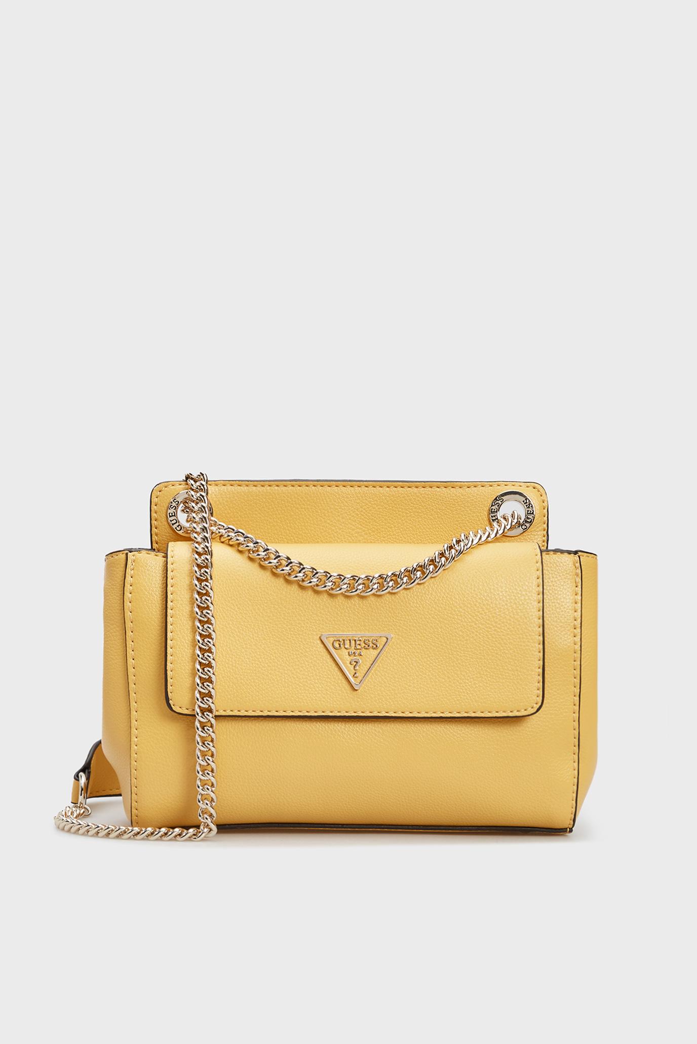Жіноча жовта сумка SANDRINE CONVERTIBLE CROSSBODY 1