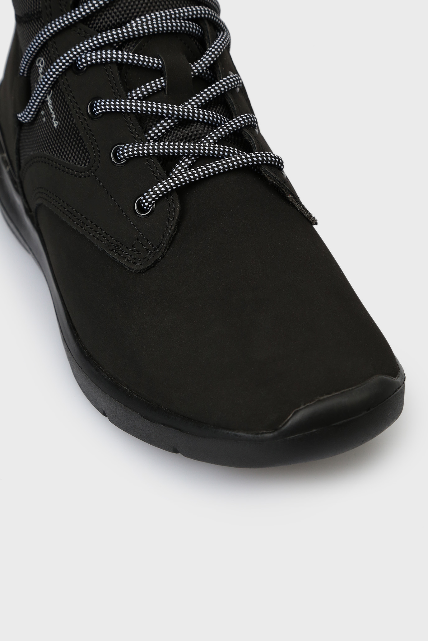 Купить Мужские черные хайтпы Pepe Jeans Pepe Jeans PMS30491 – Киев, Украина. Цены в интернет магазине MD Fashion
