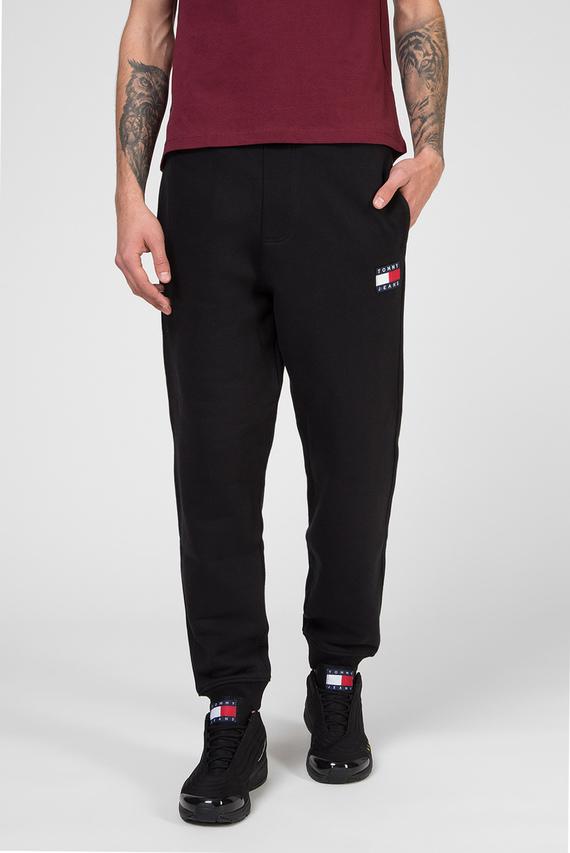 Мужские черные спортивные брюки TJM TOMMY BADGE