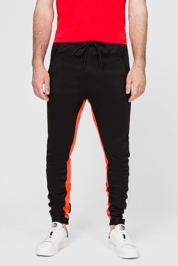 Мужские черные спортивные брюки P-MITSUO