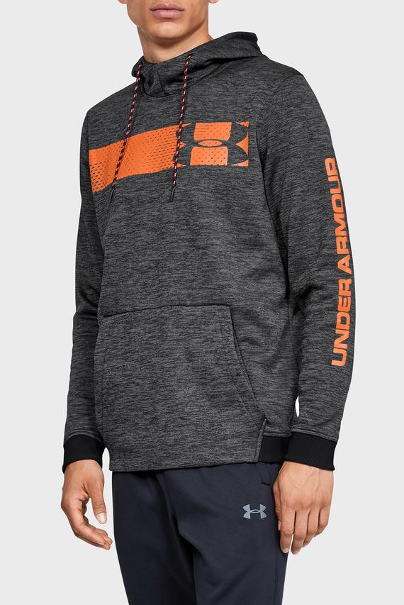 Мужское темно-серое худи AF PO Hoodie Bar Logo Graphic