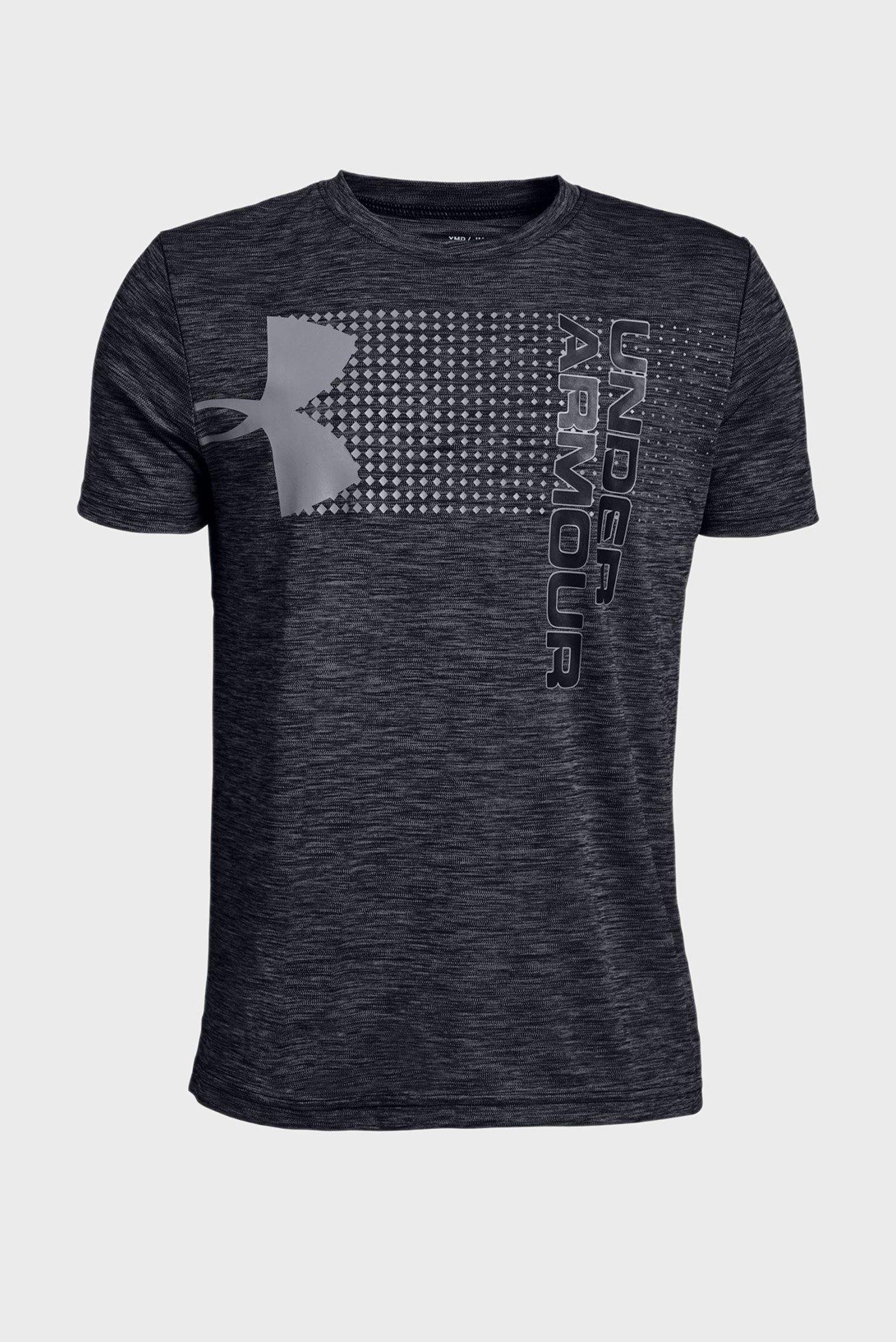 Детская черная футболка Crossfade Tee Under Armour