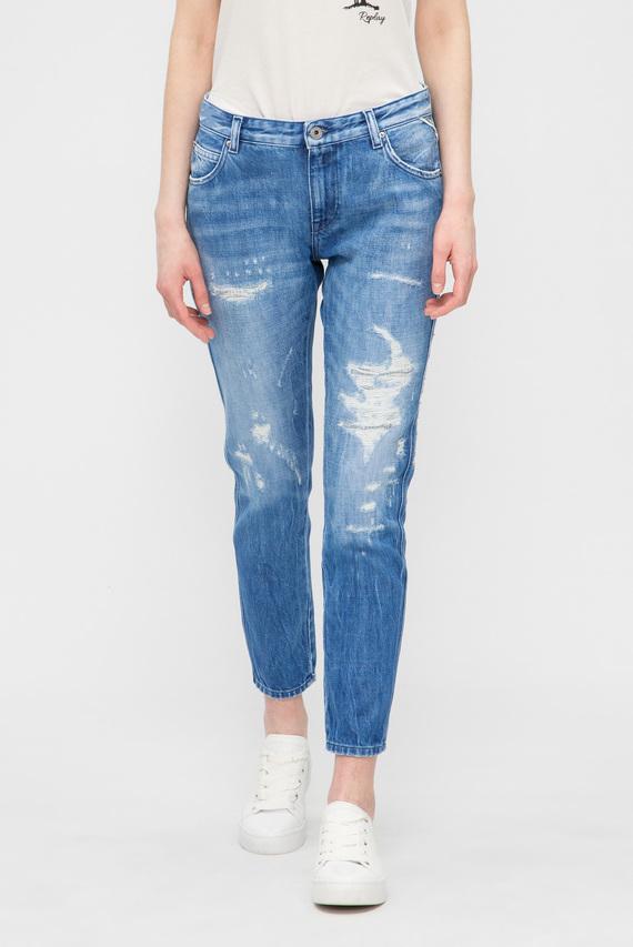 Женские синие джинсы KATEWIN
