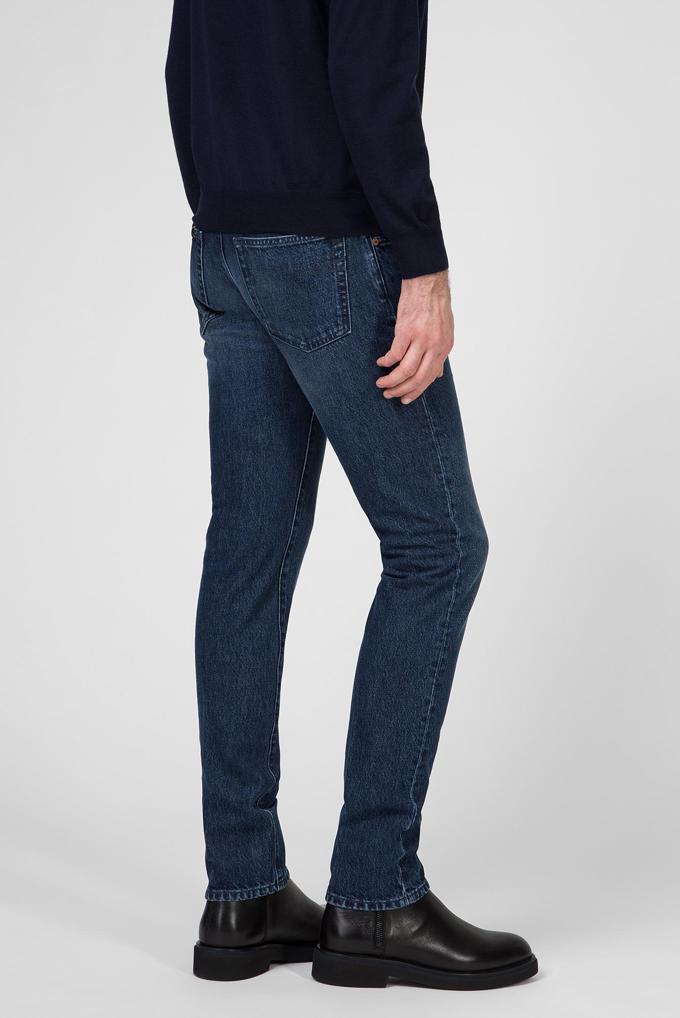 Мужские синие джинсы Barba Napoli