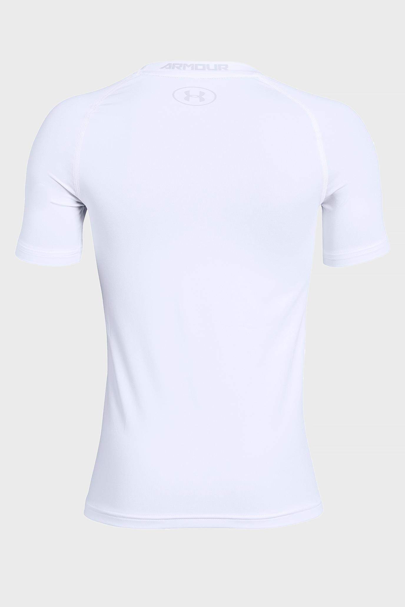 Купить Детская белая футболка Armour HeatGear Short Sleeve Under Armour Under Armour 1343015-101 – Киев, Украина. Цены в интернет магазине MD Fashion