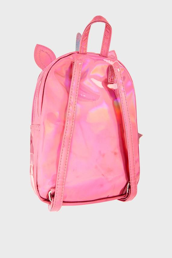 Детский малиновый рюкзак RAINBOW UNICORN BACK