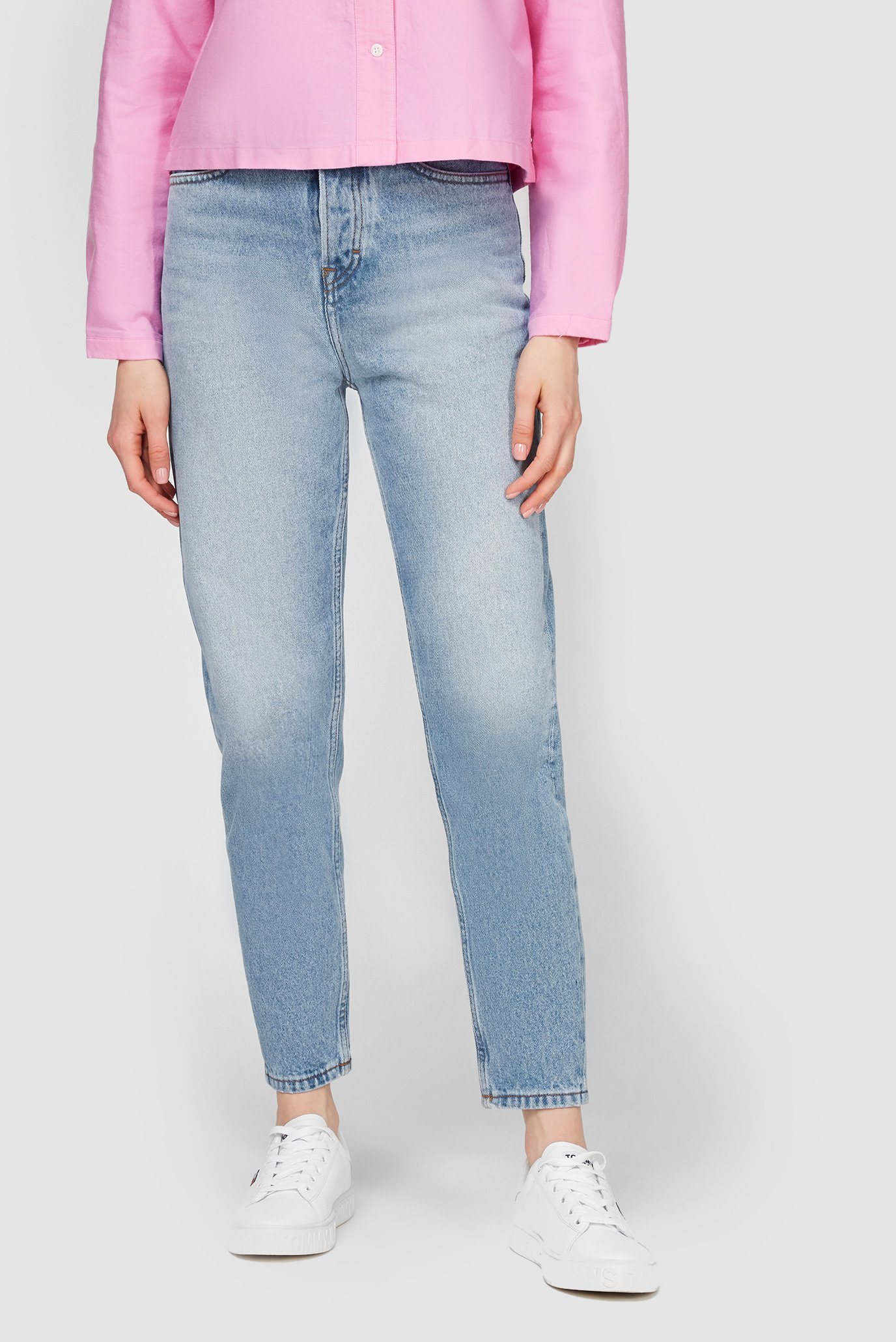 Женские синие джинсы MOM JEAN ULTRA HR TPRD EMF SPLBR 1