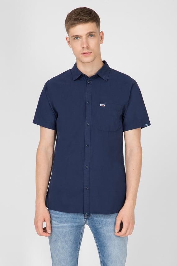 Мужская темно-синяя рубашка TJM SOLID POPLIN