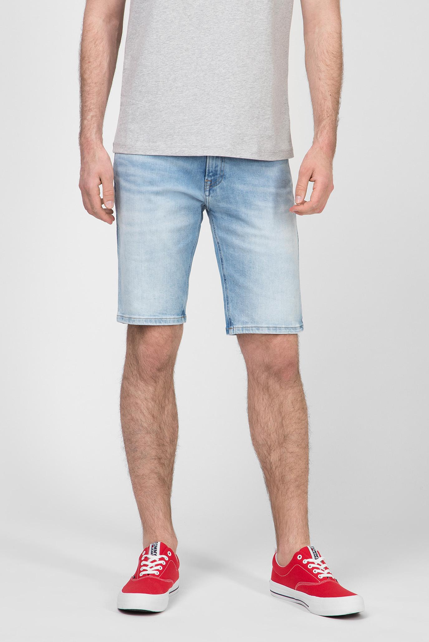 Мужские голубые джинсовые шорты SCANTON SLIM 1