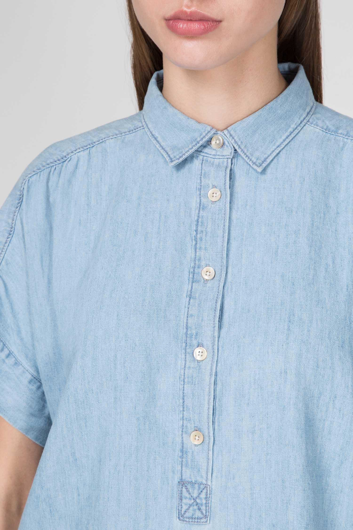 Женская голубая рубашка HEIDI Closed