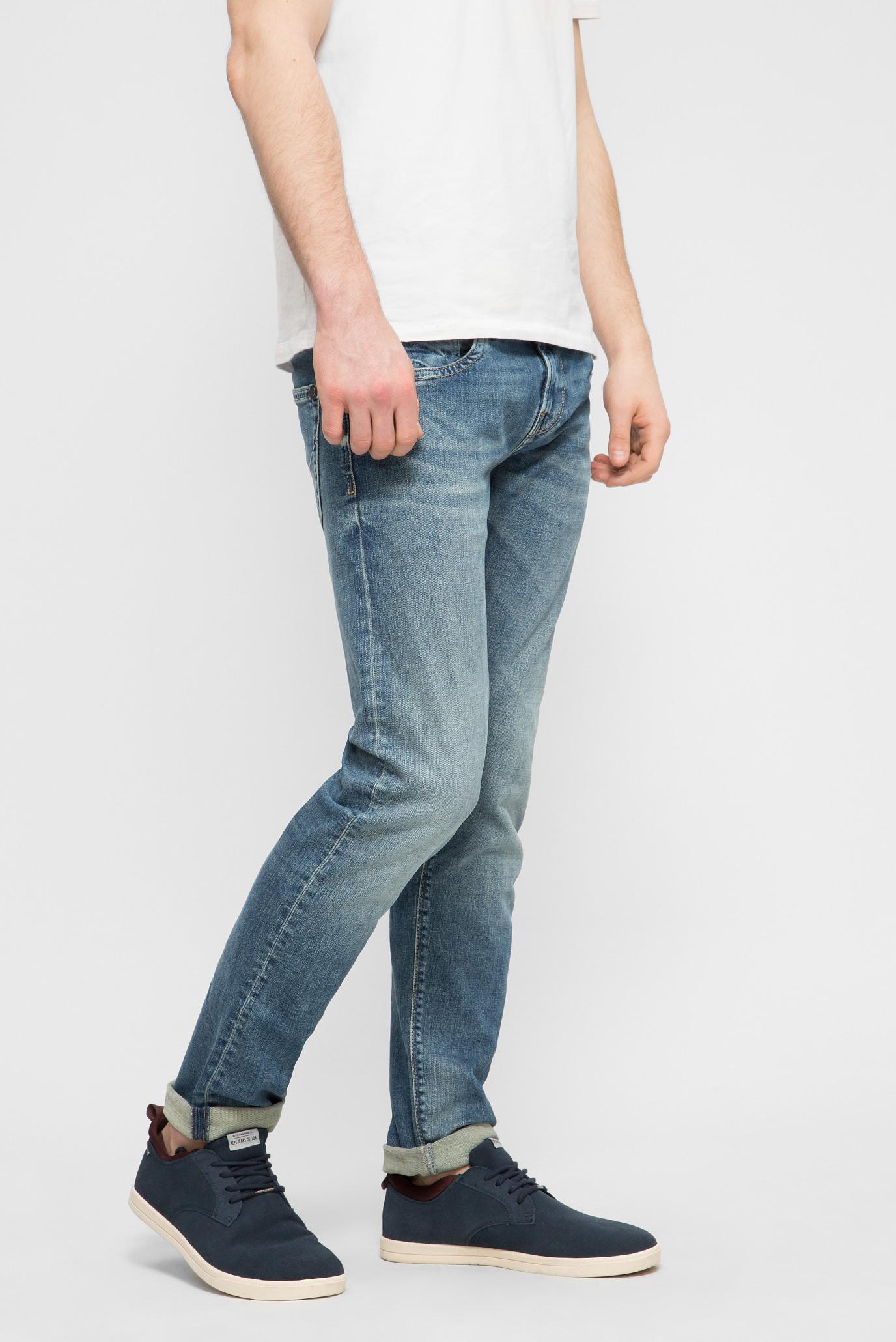 Купить Мужские синие джинсы HATCH Pepe Jeans Pepe Jeans PM200823GF02 – Киев, Украина. Цены в интернет магазине MD Fashion