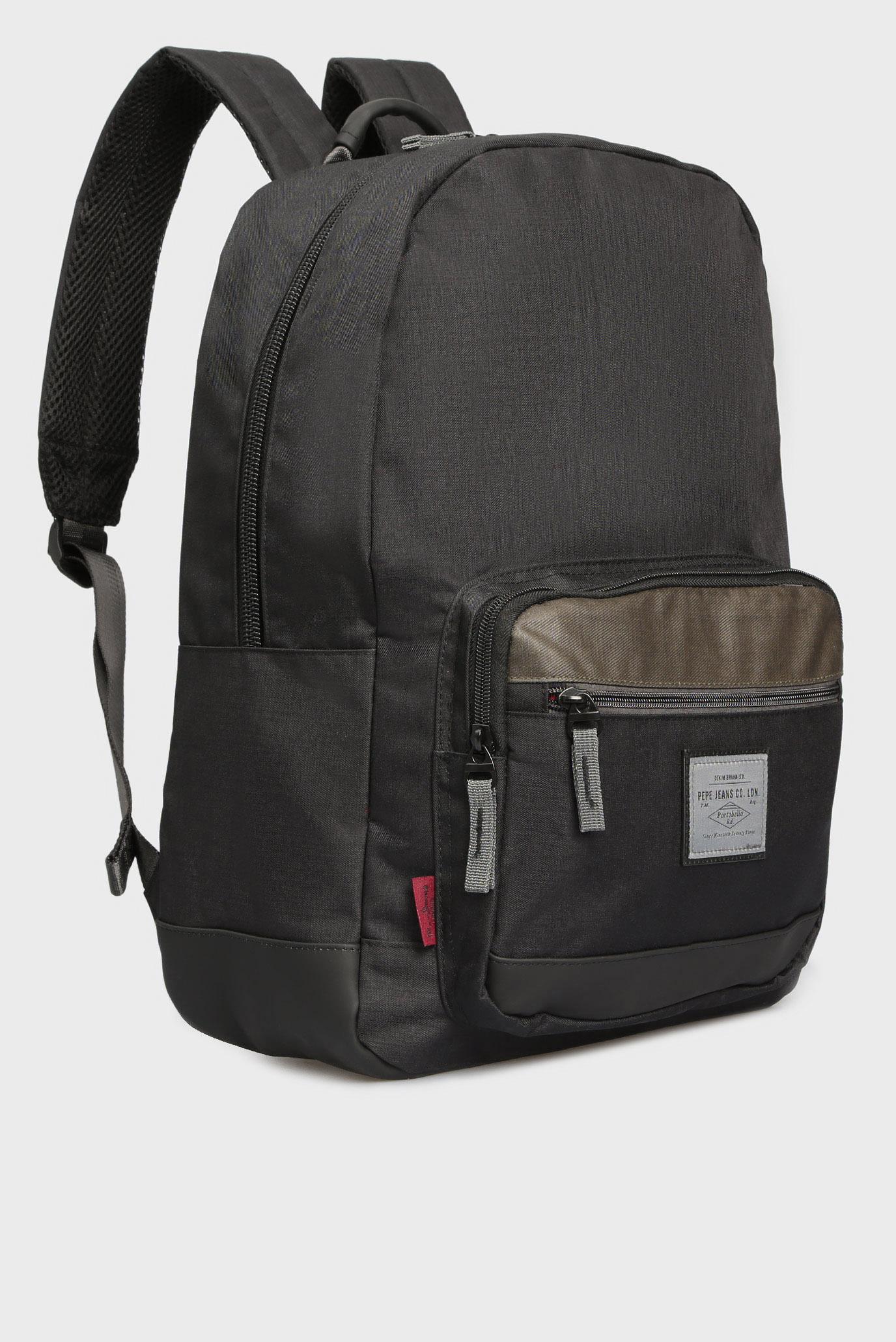 Купить Мужской темно-серый рюкзак Pepe Jeans Pepe Jeans PM120027 – Киев, Украина. Цены в интернет магазине MD Fashion