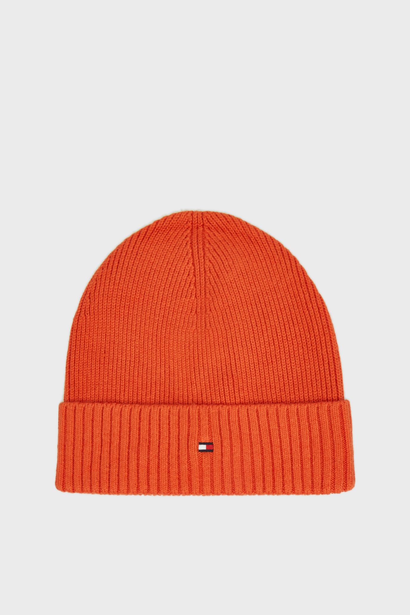 Мужская рыжая шапка Tommy Hilfiger