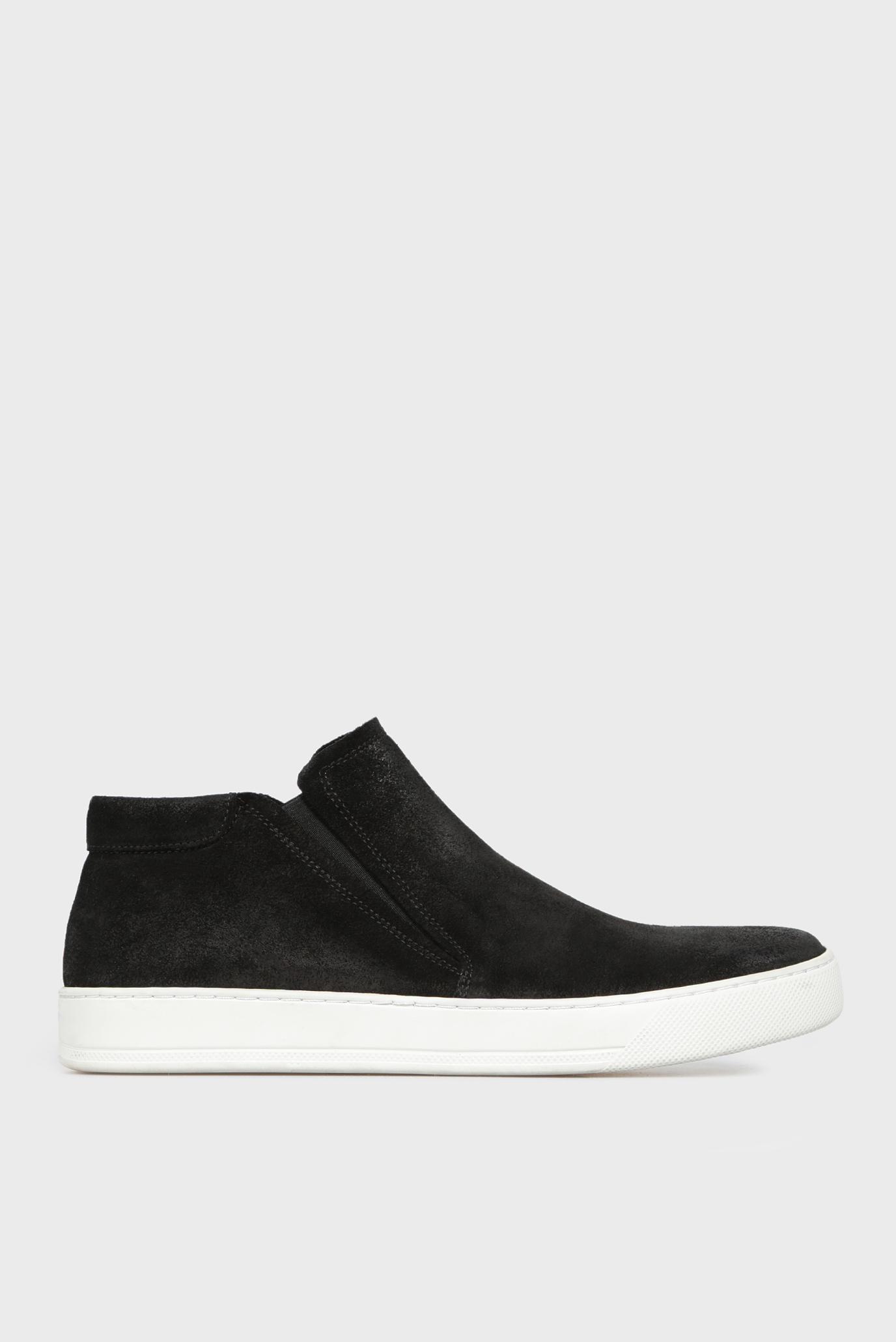 Купить Мужские черные замшевые ботинки Kenneth Cole Kenneth Cole SMF6SU004 – Киев, Украина. Цены в интернет магазине MD Fashion