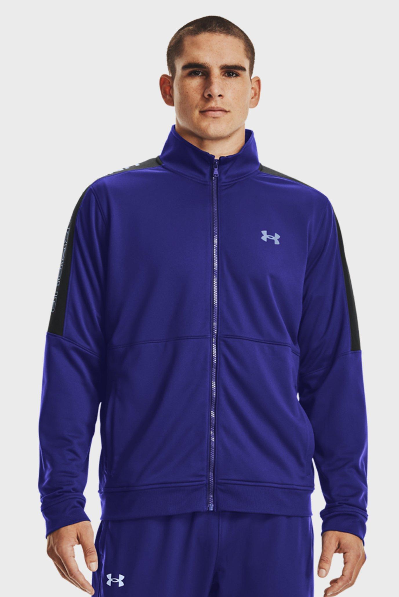 Мужская синяя спортивная кофта UA SPORTSTYLE GRAPHIC TK JT 1