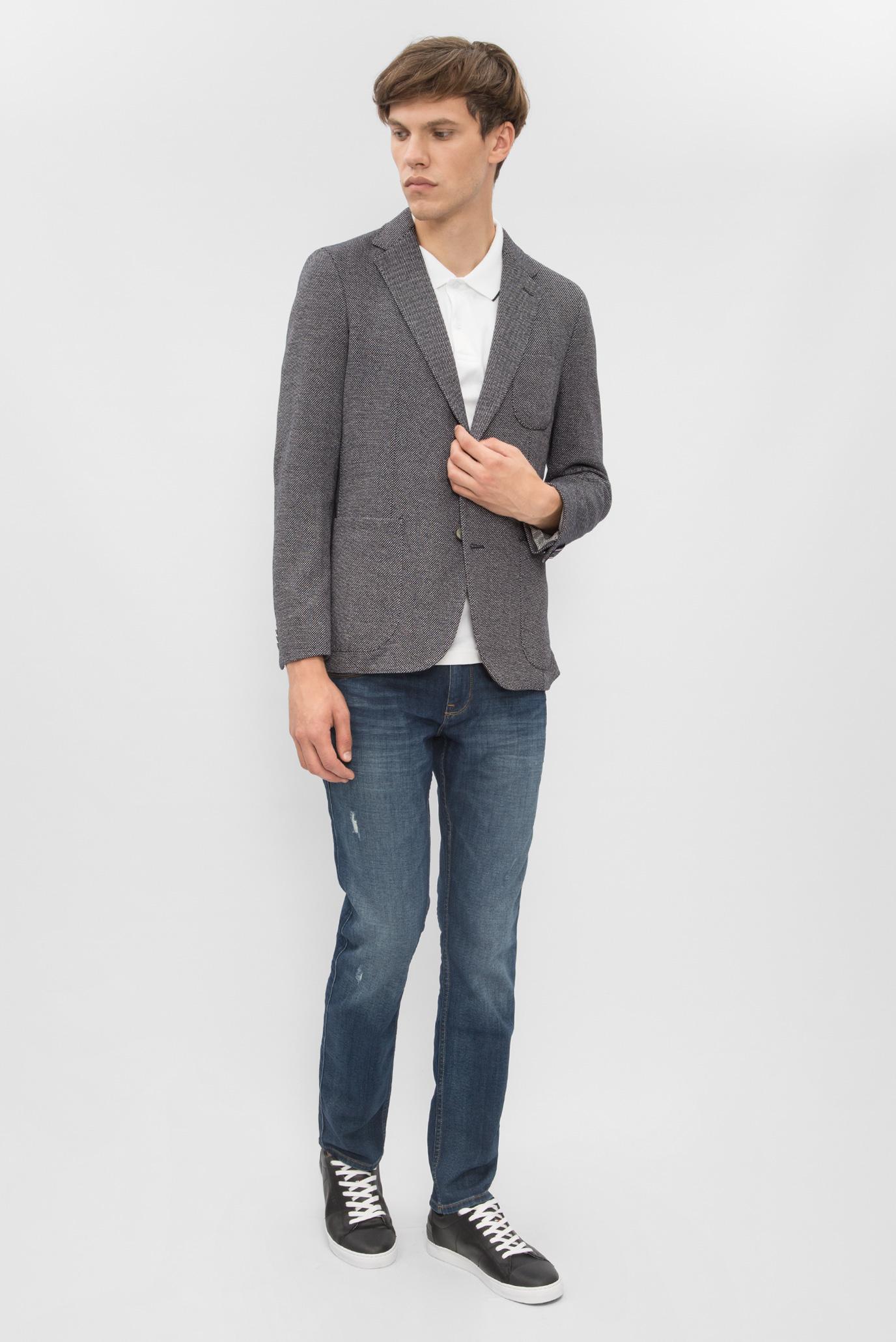 Купить Мужской синий пиджак Tommy Hilfiger Tommy Hilfiger MW0MW02084 – Киев, Украина. Цены в интернет магазине MD Fashion
