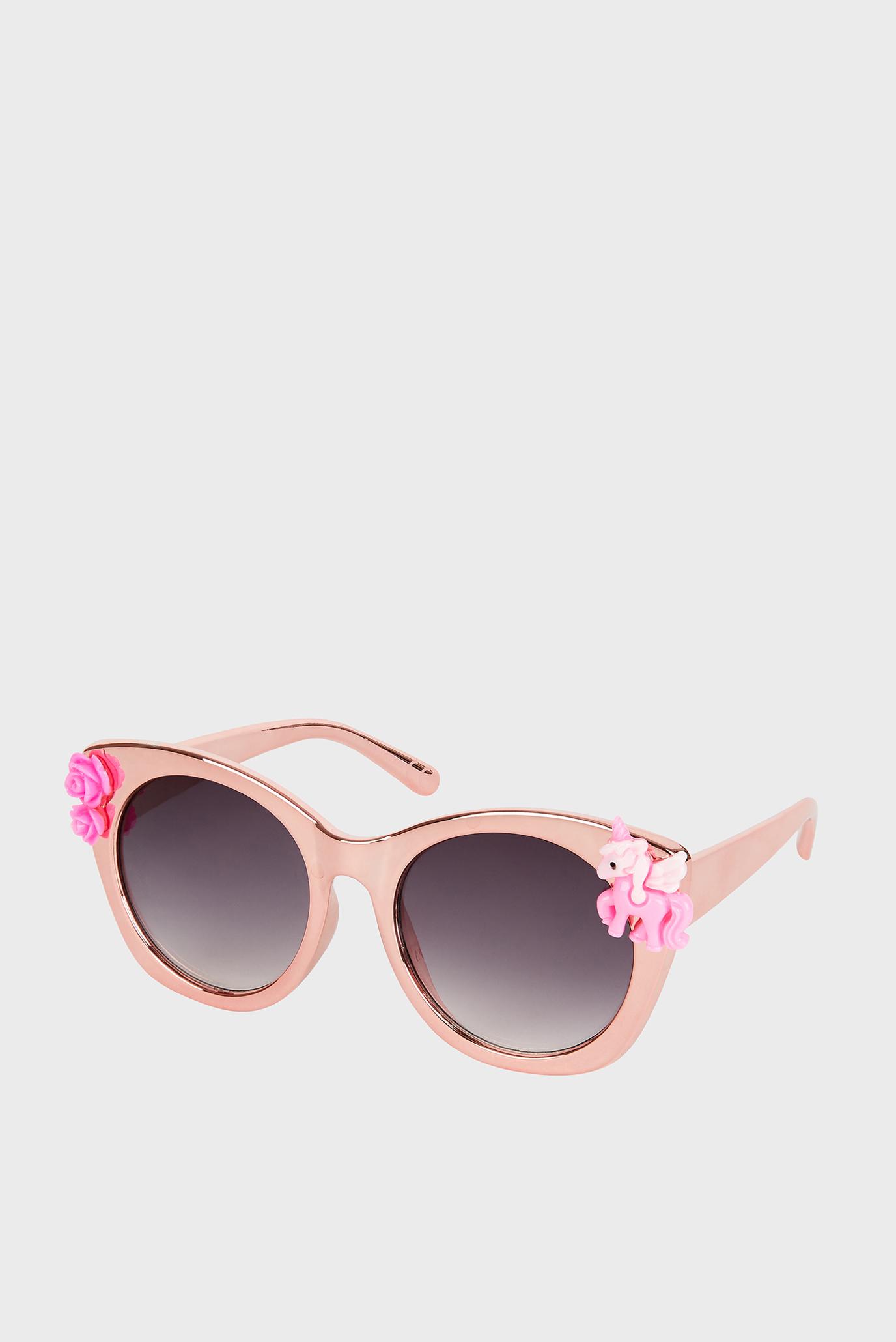 Дитячі рожеві окуляри FELICITY UNICORN PIN 1