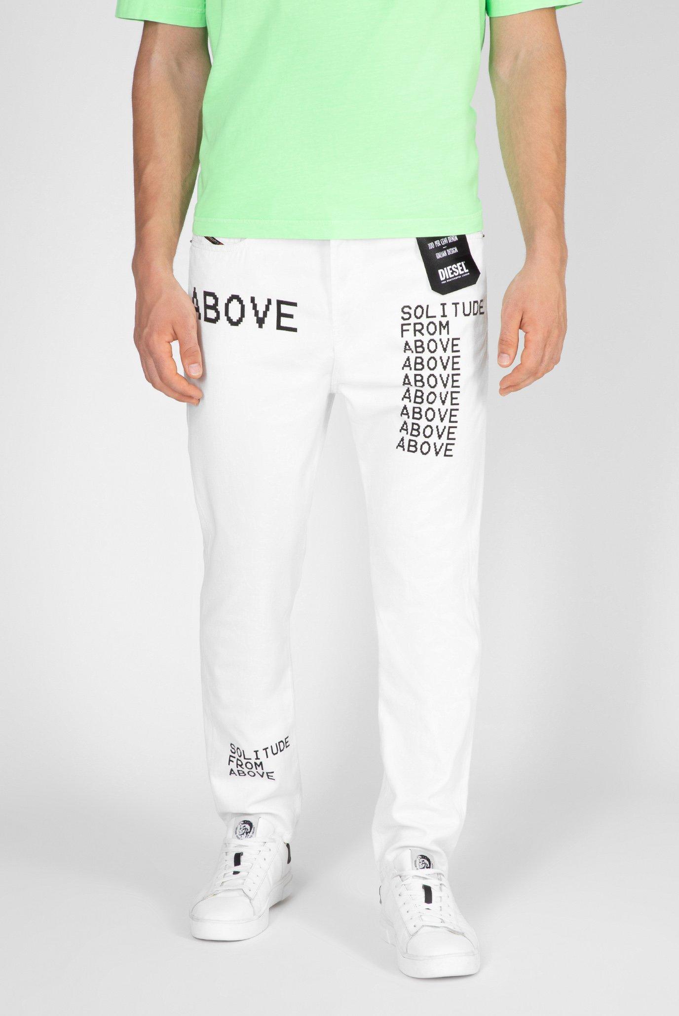 Мужские белые джинсы D-VIDER-SP2 1