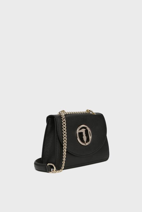 Женская черная сумка через плечо SOPHIE