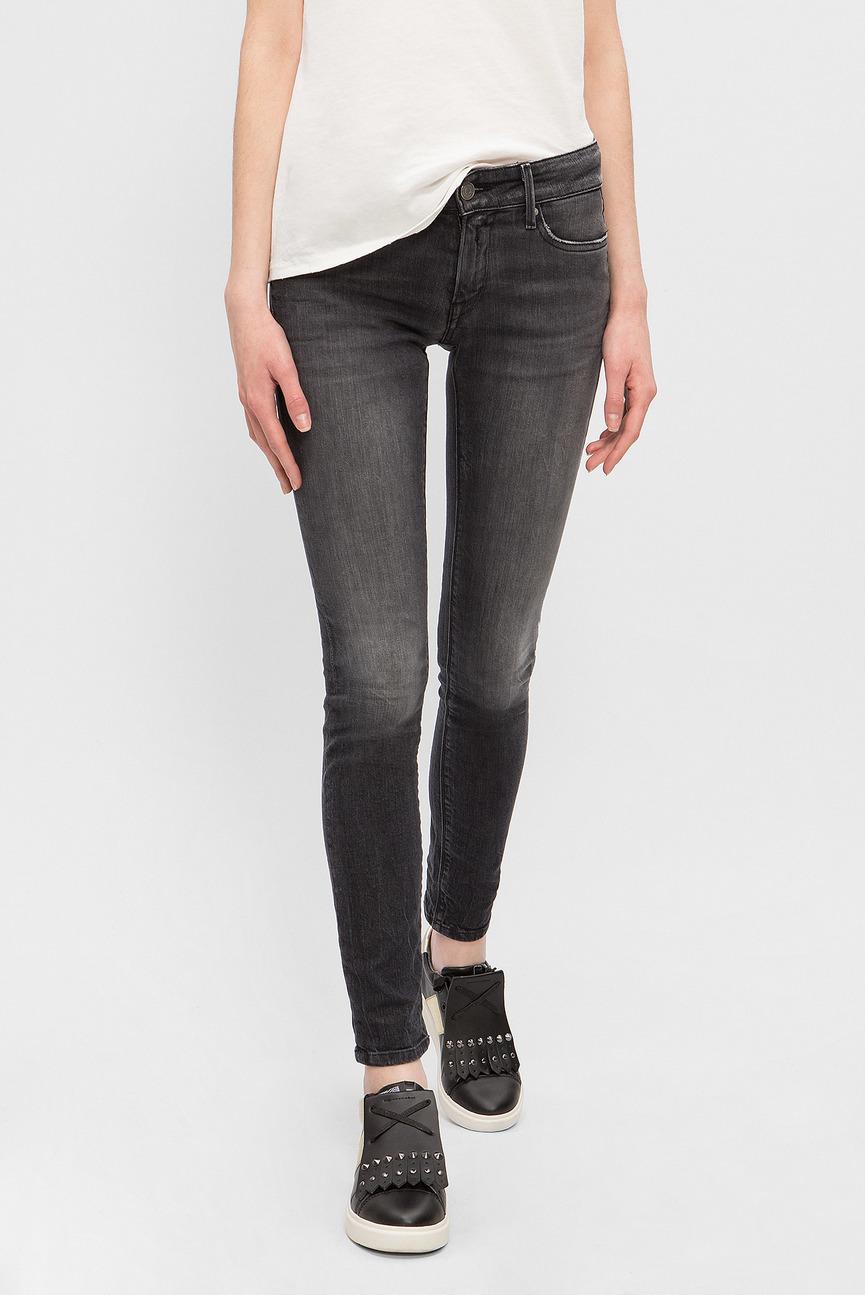 Женские серые джинсы 573