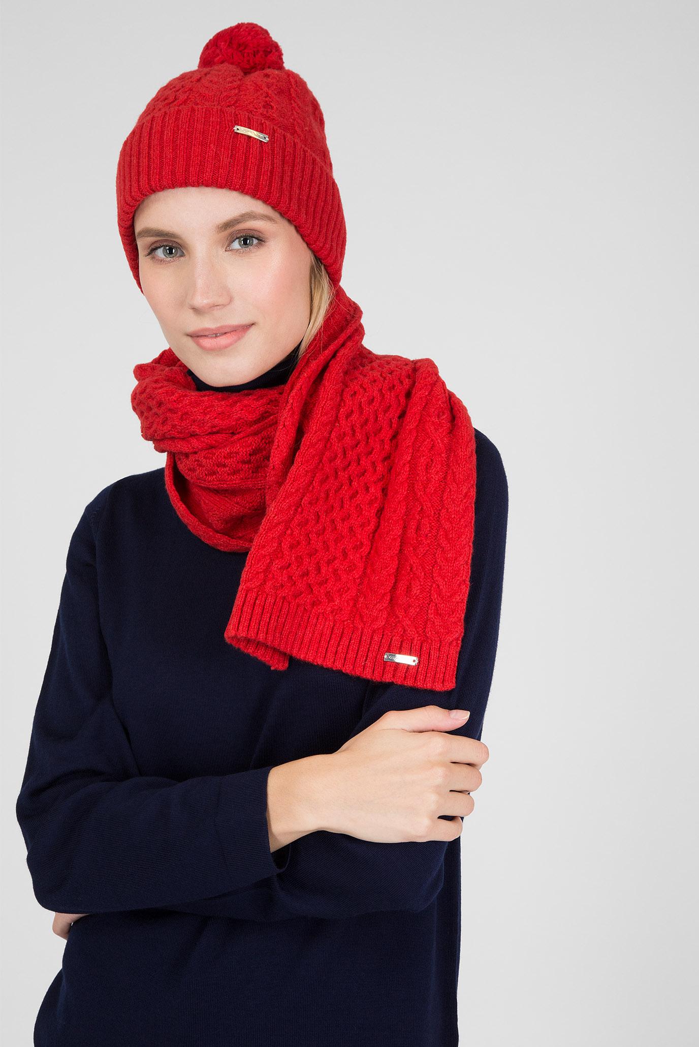 Купить Женская красная шапка Gant Gant 4910003 – Киев, Украина. Цены в интернет магазине MD Fashion