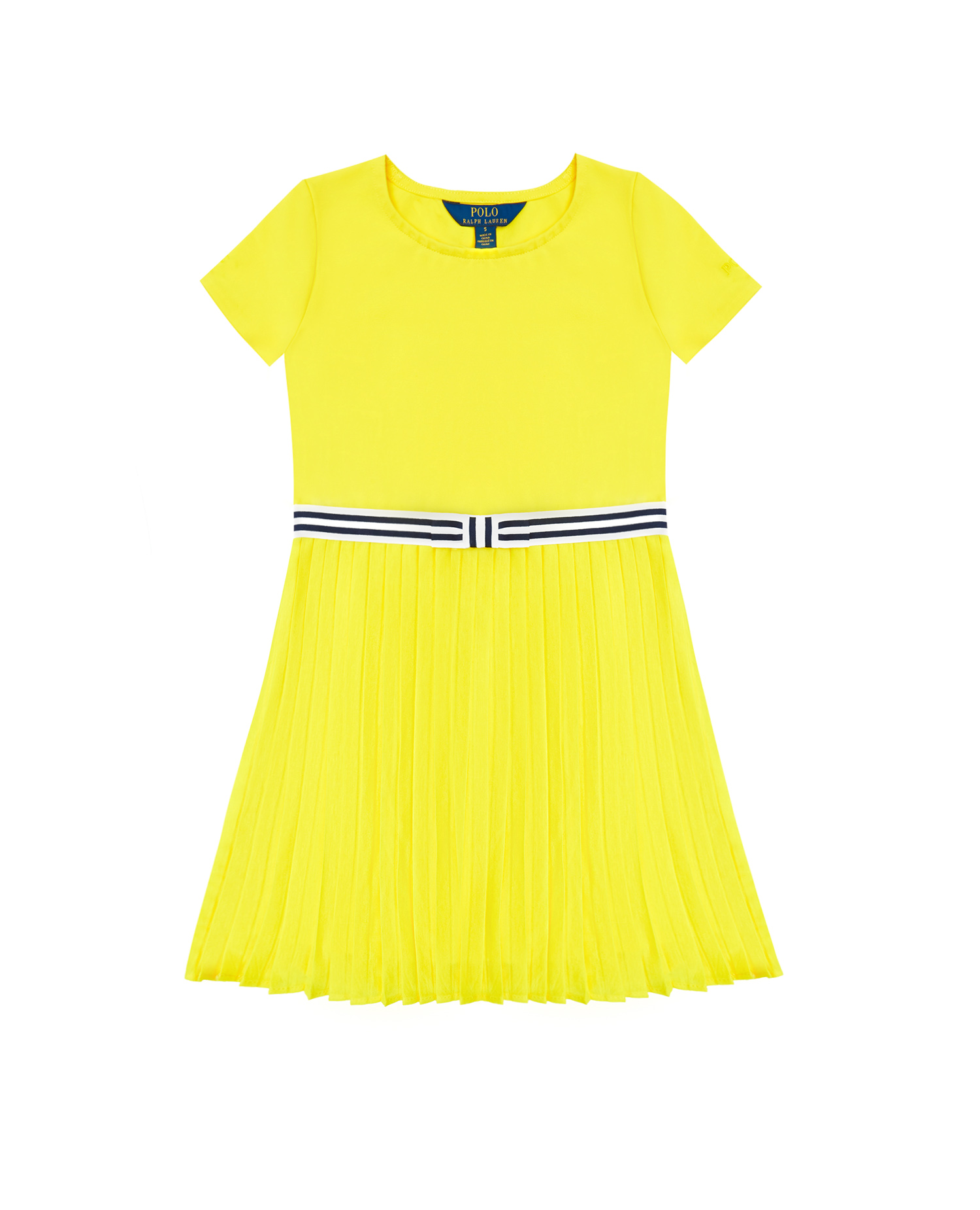 Дитяча жовта сукня 1