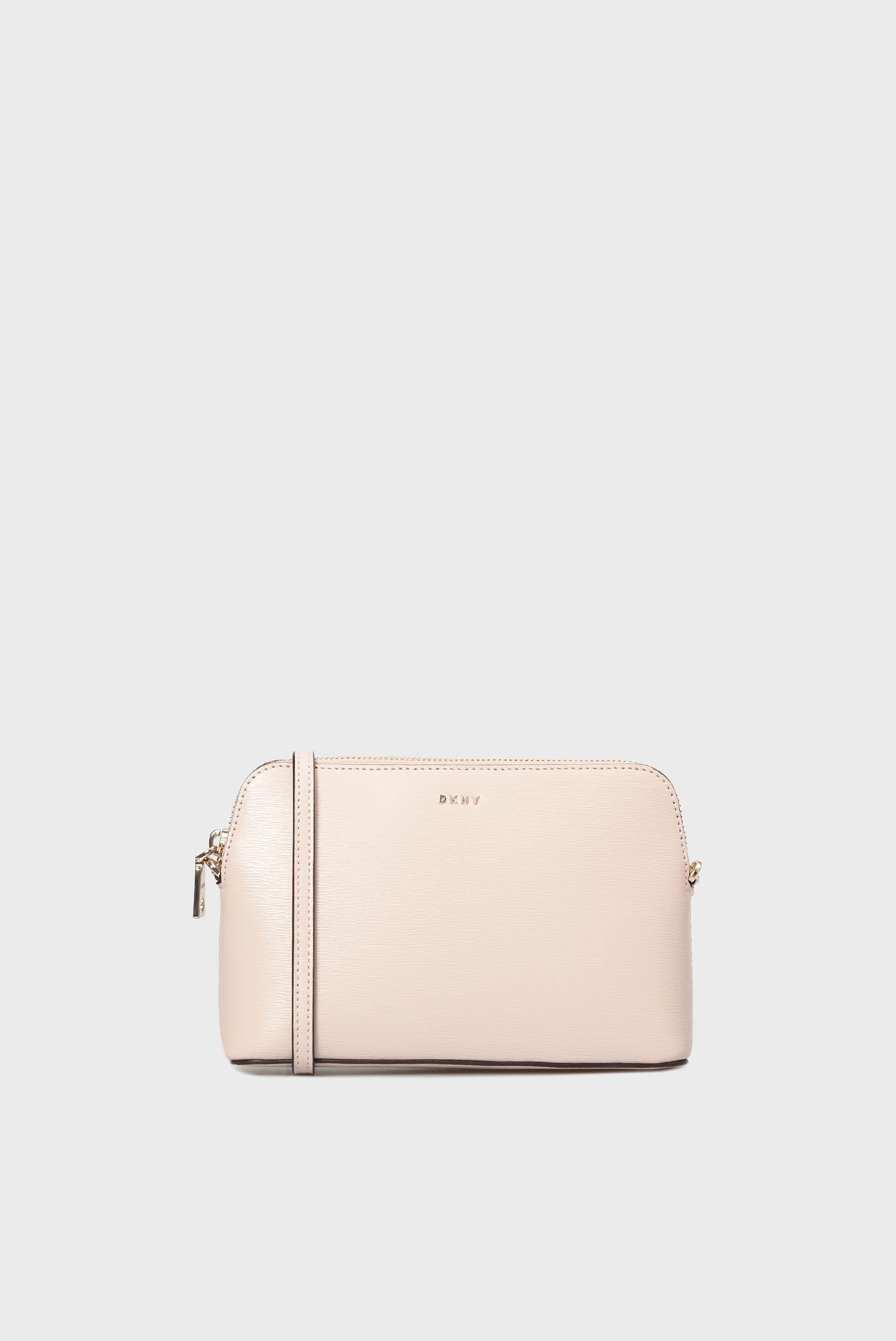 b8721286e1e1 Купить Женская розовая кожаная сумка через плечо BRYANT-DOME DKNY DKNY  R83E3655 – Киев, Украина. Цены в интернет магазине MD Fashion