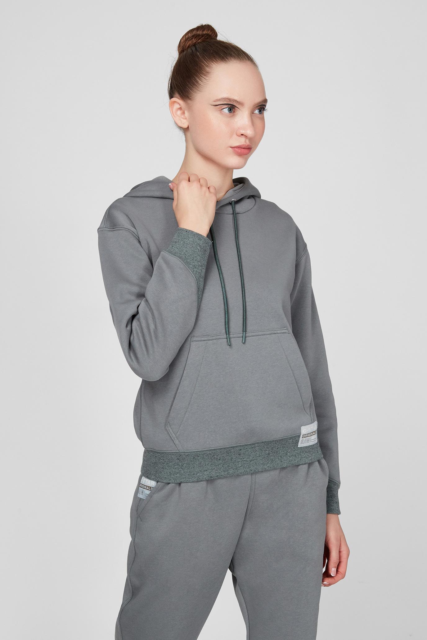 Женское серое худи Premium core hooded sw wmn 1