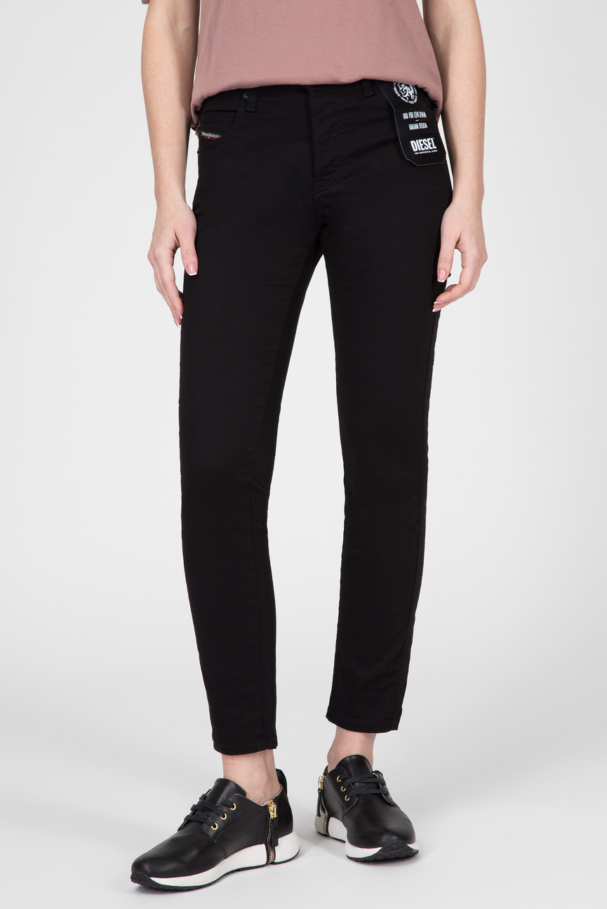 Женские черные джинсы BABHILA