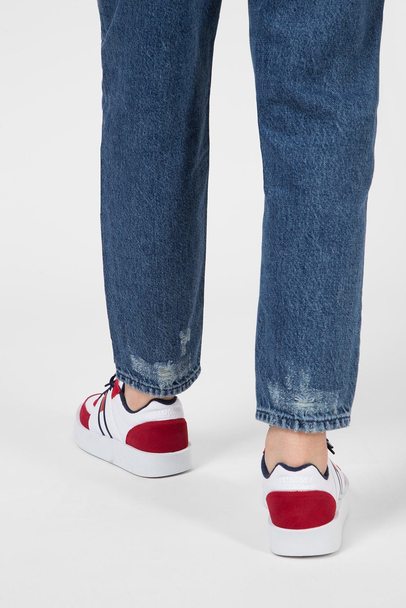Купить Женские синие джинсы HIGH RISE TAPERED TJ2004 Tommy Hilfiger Tommy Hilfiger DW0DW05902 – Киев, Украина. Цены в интернет магазине MD Fashion