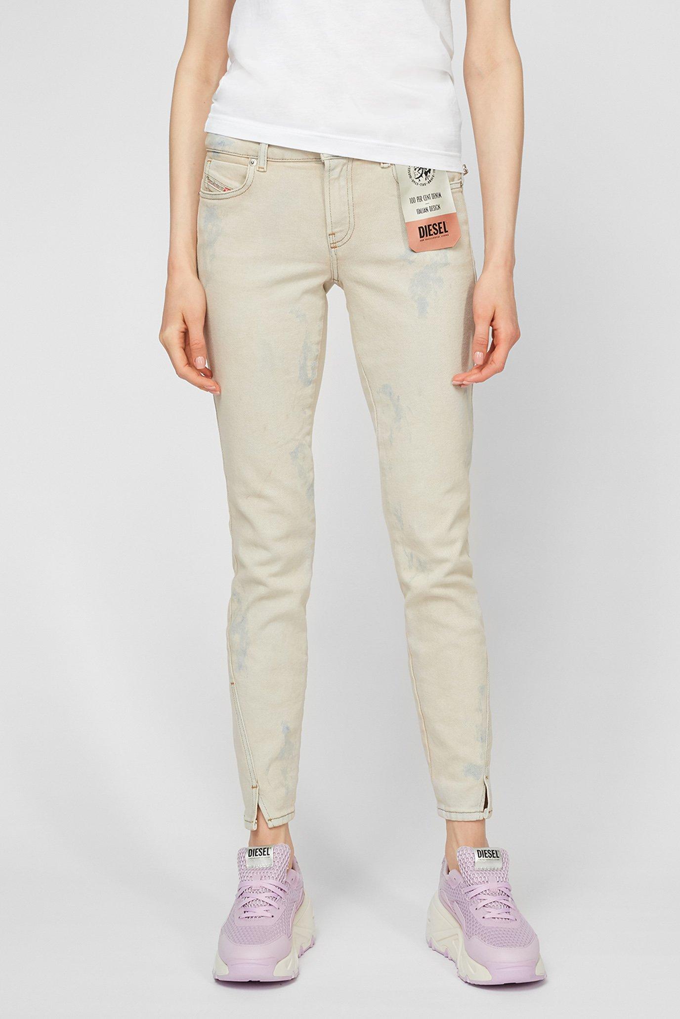 Жіночі бежеві джинси D-JEVEL 1