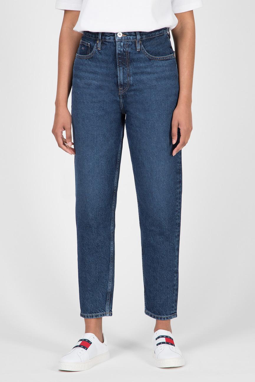 Женские темно-синие джинсы HIGH RISE TAPERED TJ 2004