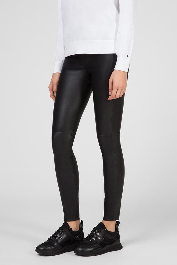 Женские черные кожаные брюки NEW VIVIANNE