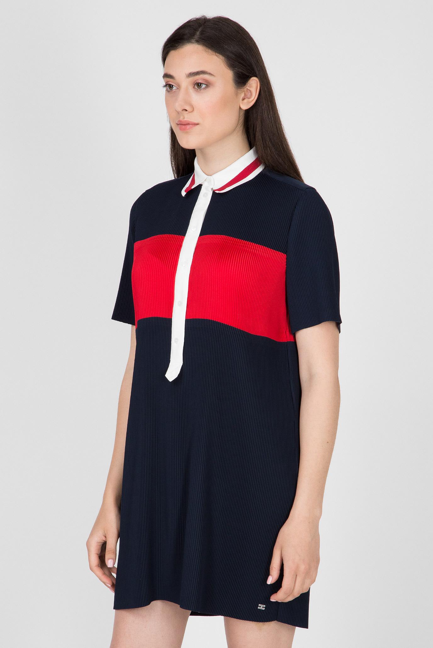 Женское темно-синее платье FRANCES Tommy Hilfiger