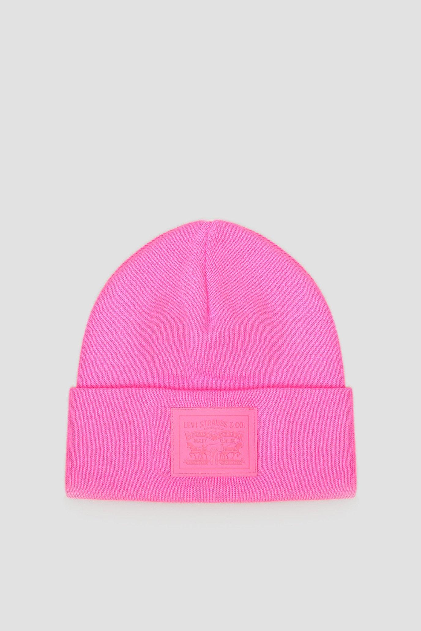 Чоловіча рожева шапка 1