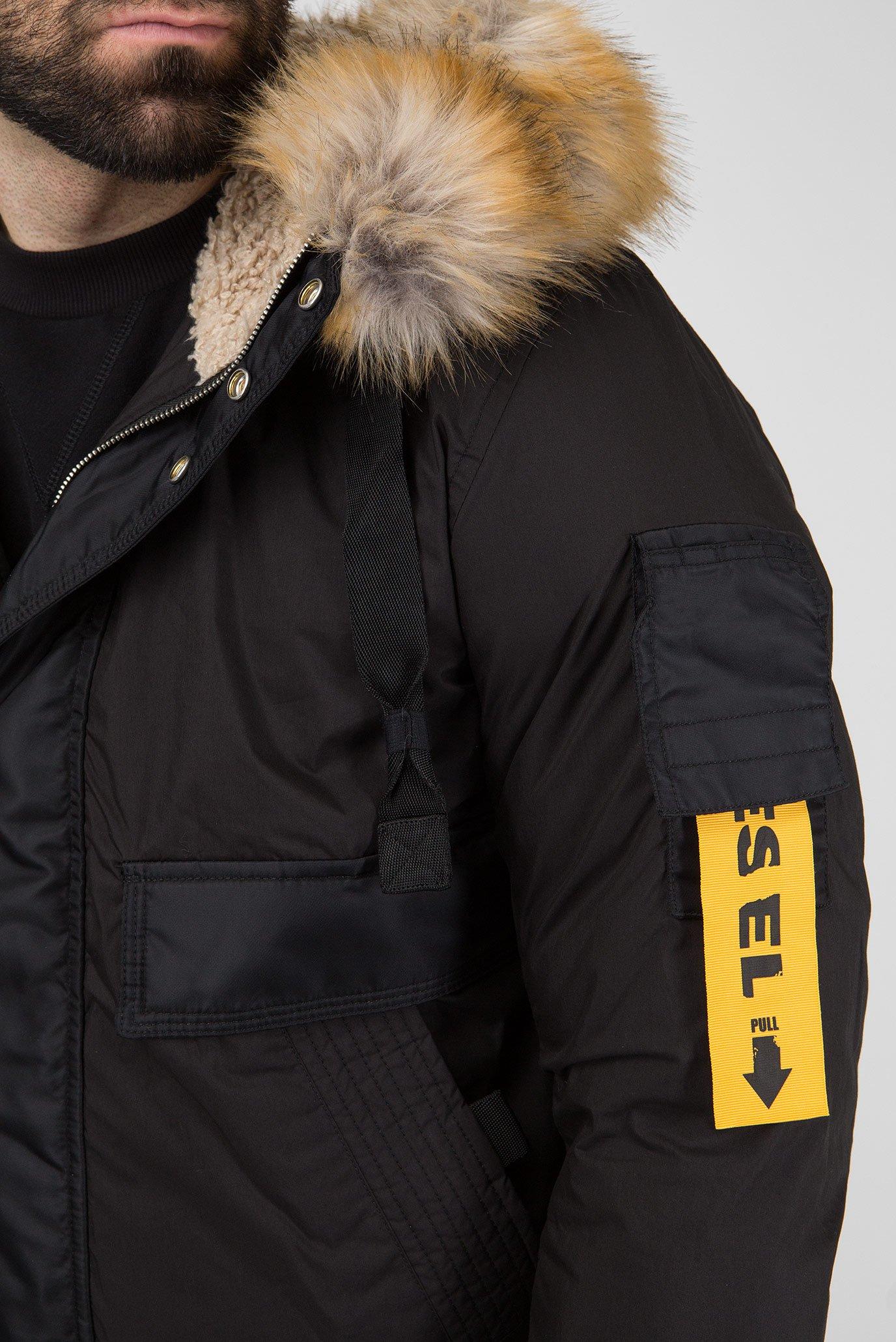 Купить Мужская черная куртка W-BURKE GIACCA Diesel Diesel 00SIEF 0GAQD – Киев, Украина. Цены в интернет магазине MD Fashion