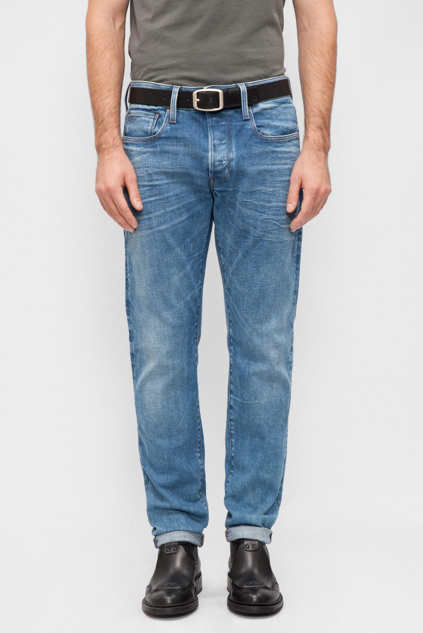 Купить Мужские синие джинсы Slim G-Star RAW G-Star RAW 51001,9178 – Киев, Украина. Цены в интернет магазине MD Fashion