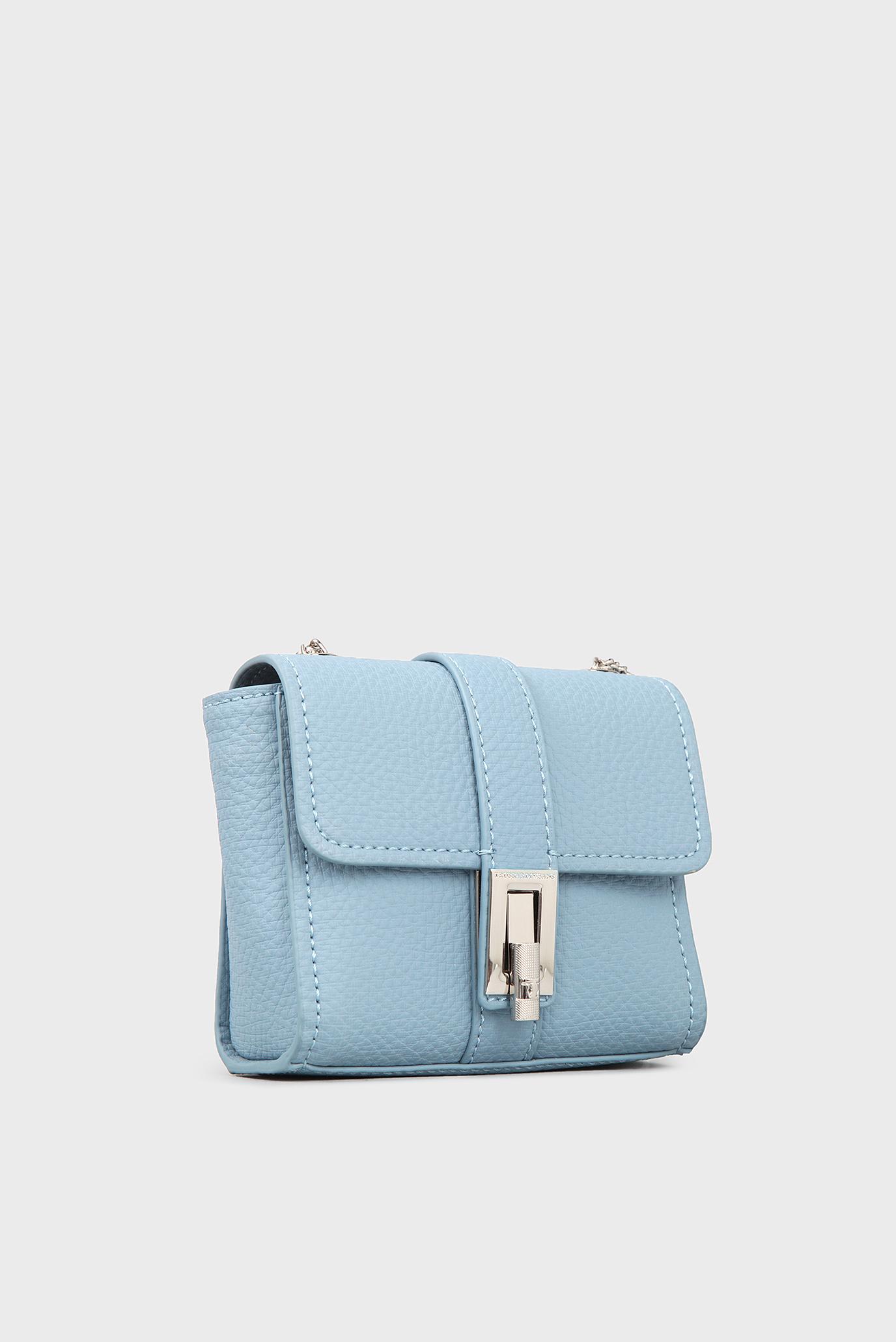 7f2564fe0bcf Купить Женская голубая сумка через плечо Trussardi Jeans Trussardi Jeans  1Y000031/75B00163 – Киев, Украина. Цены в ...