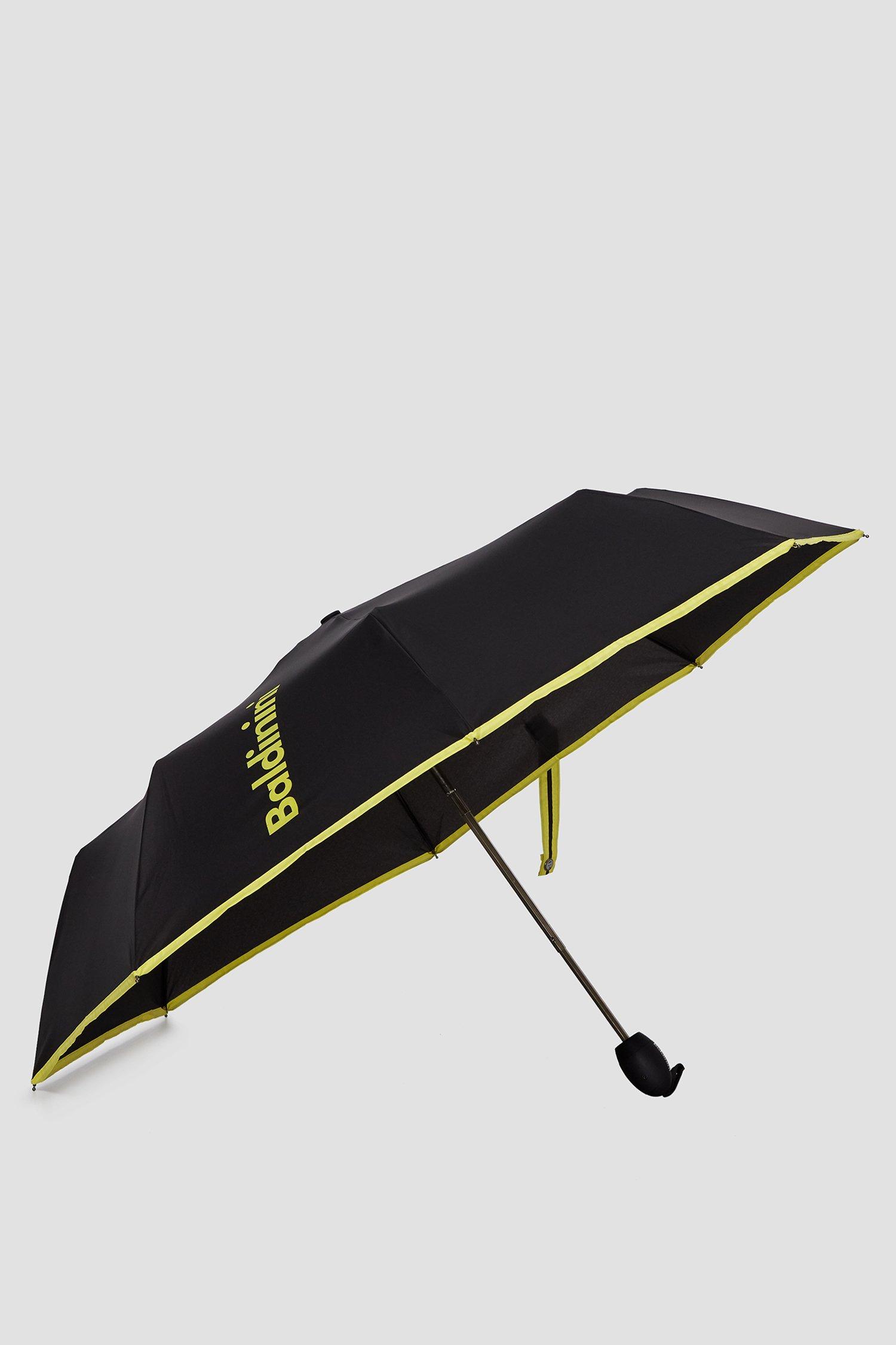 Женский черный зонт 1