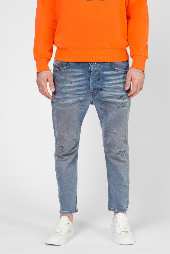 Мужские голубые джинсы NARROT
