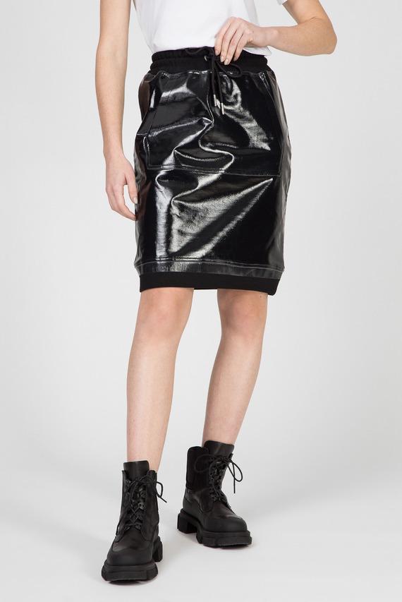 Женская черная юбка O-NYUSHA-A