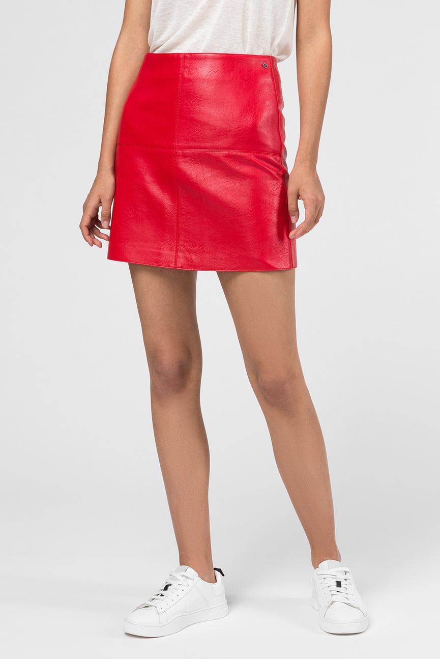 Женская красная юбка HENAR