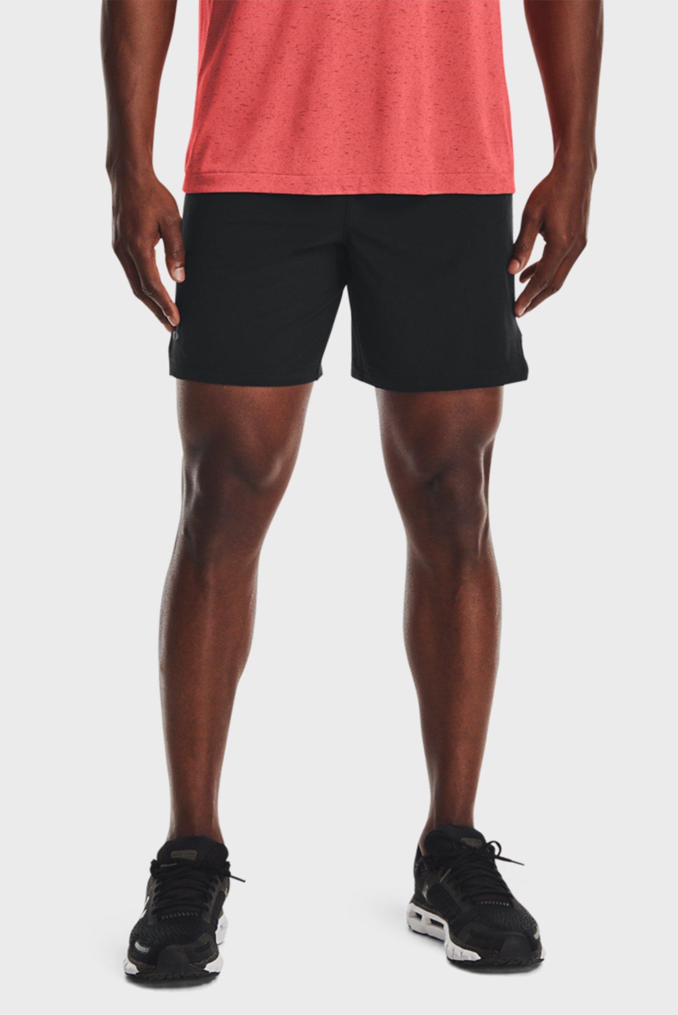 Чоловічі чорні шорти UA SpeedPocket 7 '' Short 1