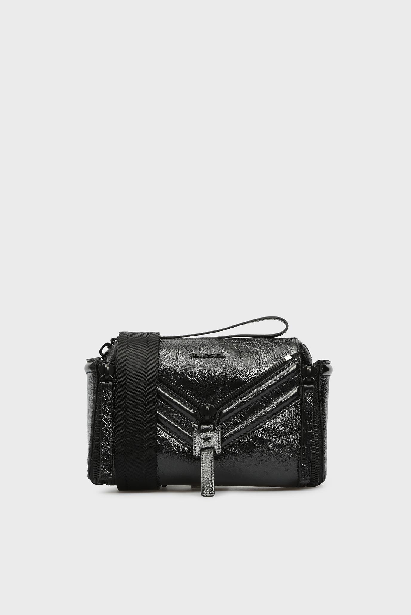 732821e385b2 Купить Женская черная сумка через плечо LE-ZIPPER Diesel Diesel X05881  PR013 – Киев, Украина. Цены в ...