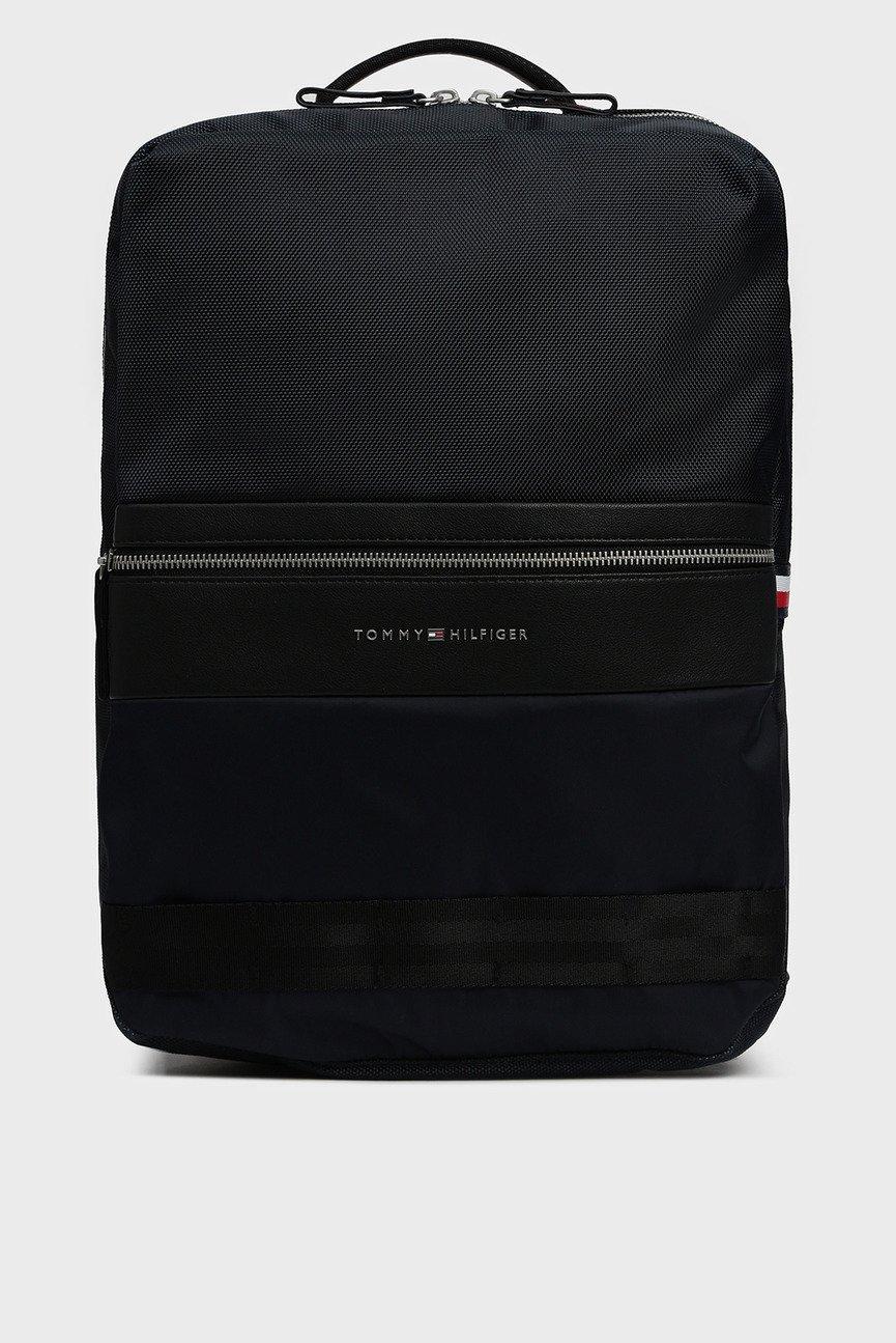 Мужской темно-синий рюкзак NYLON MIX