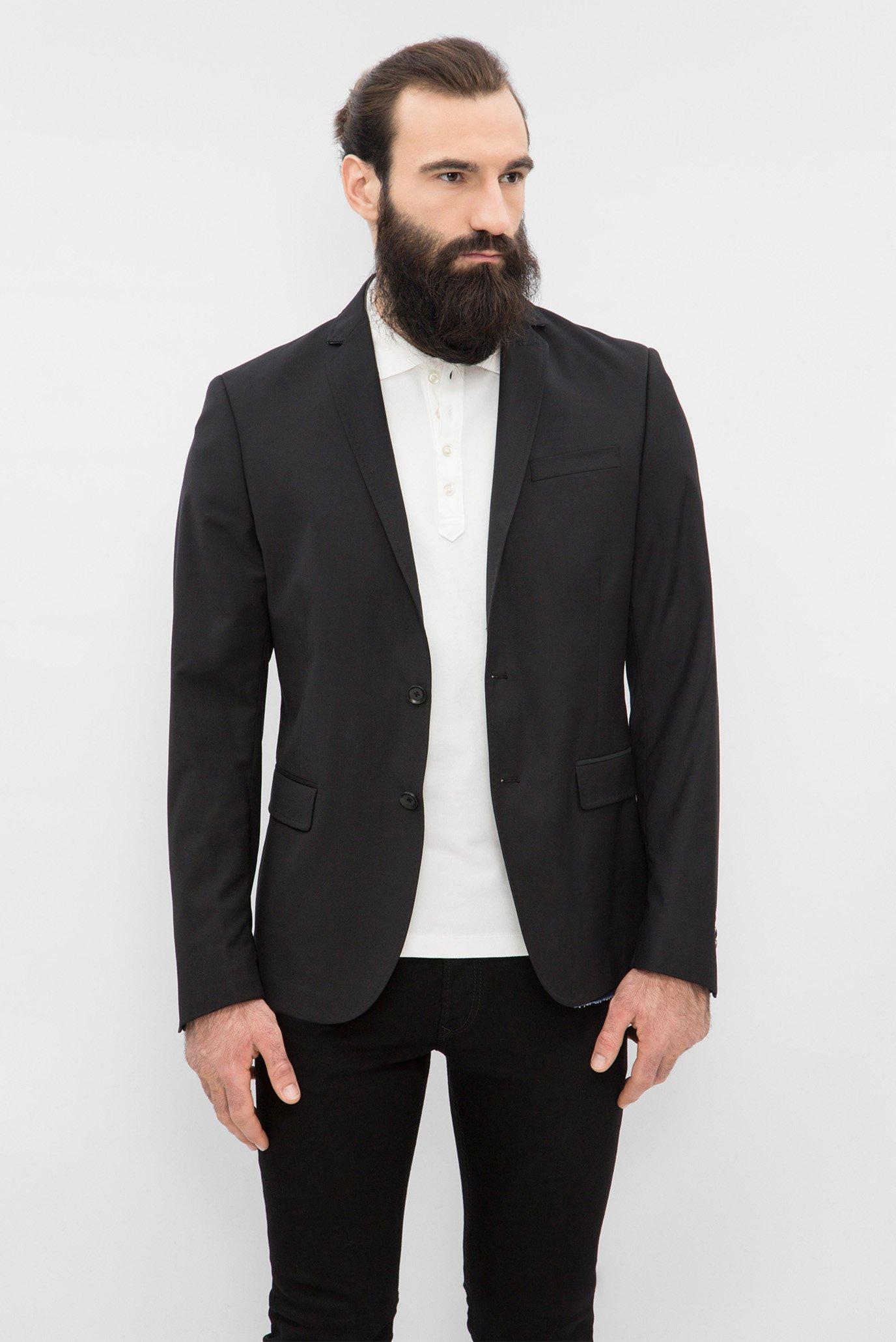 Купить Мужской черный пиджак Diesel Diesel 00S149 0NAIP – Киев, Украина. Цены в интернет магазине MD Fashion