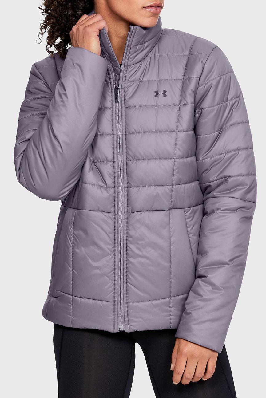 Женская серая куртка UA Armour Insulated