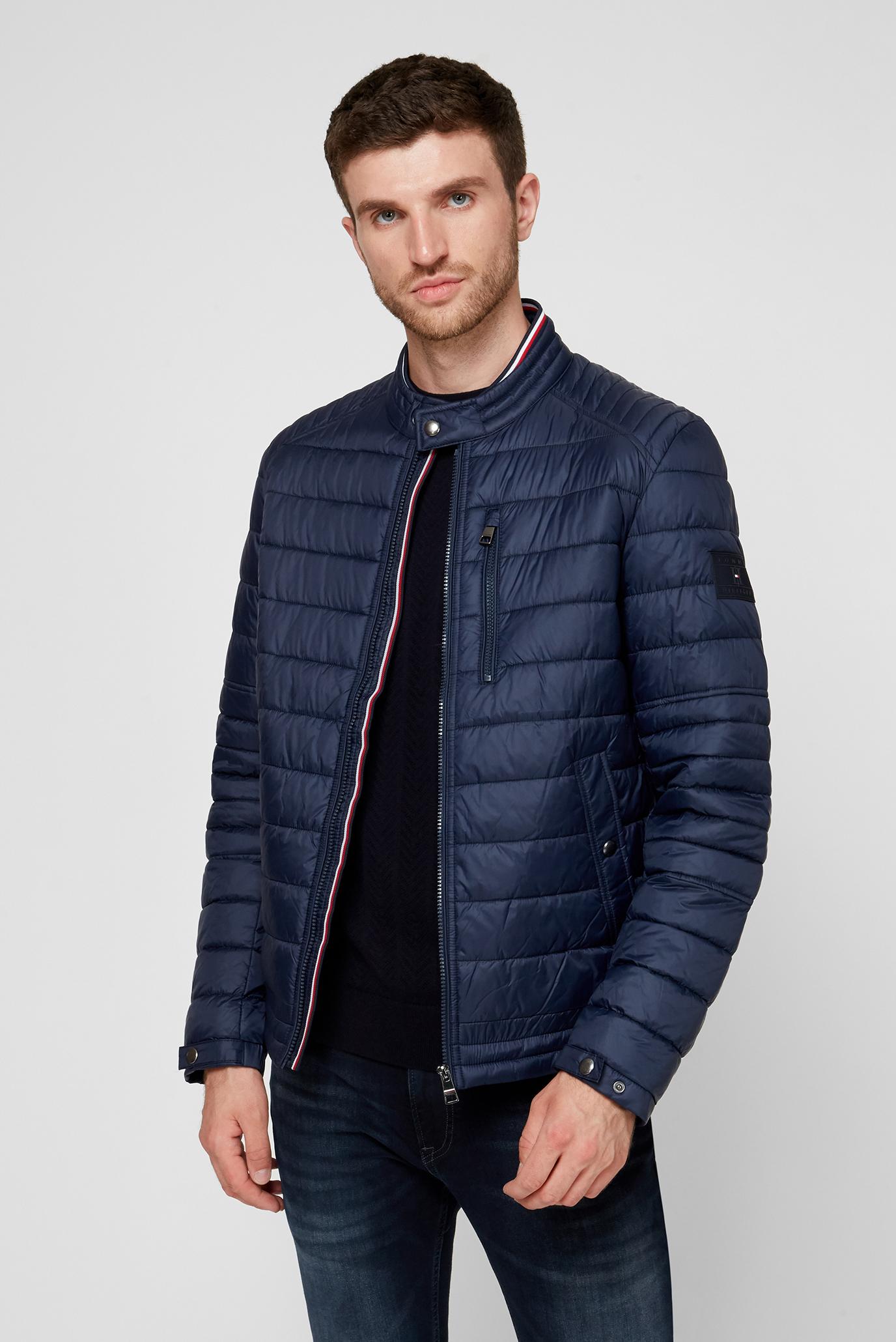 Мужская темно-синяя куртка CAFÉ RACER 1